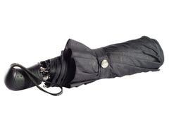 μαύρη ομπρέλα Στοκ φωτογραφία με δικαίωμα ελεύθερης χρήσης