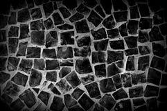 Μαύρη πέτρα Στοκ Εικόνα