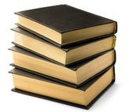 μαύρη παλαιά στοίβα βιβλίων Στοκ φωτογραφία με δικαίωμα ελεύθερης χρήσης