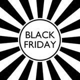Μαύρη Παρασκευή αναδρομική Στοκ εικόνα με δικαίωμα ελεύθερης χρήσης