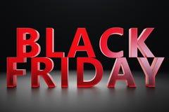 Μαύρη Παρασκευή - μόνο μία φορά το χρόνο, μέγιστες εκπτώσεις Πωλήσεις, χαρά, επιτυχία Η στιγμή Μαύρο κείμενο Παρασκευής στον τοίχ διανυσματική απεικόνιση