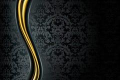 μαύρη πολυτέλεια ανασκόπ&et Στοκ εικόνα με δικαίωμα ελεύθερης χρήσης