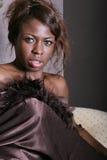 μαύρη προκλητική γυναίκα στοκ φωτογραφίες με δικαίωμα ελεύθερης χρήσης