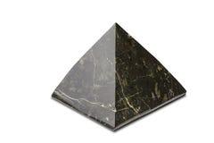 Μαύρη πυραμίδα Στοκ Φωτογραφίες