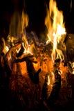 μαύρη πυρκαγιά ανασκόπησης στοκ εικόνες