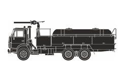 Μαύρη πυροσβεστική αντλία Στοκ εικόνες με δικαίωμα ελεύθερης χρήσης