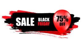 μαύρη πώληση Παρασκευής Μαύρο έμβλημα Ιστού Πώληση αφισών ευτυχής επιγραφή απεικόνισης Πάσχας αρχική επίσης corel σύρετε το διάνυ Στοκ εικόνα με δικαίωμα ελεύθερης χρήσης