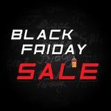 Μαύρη πώληση Παρασκευής εμβλημάτων Στοκ εικόνες με δικαίωμα ελεύθερης χρήσης
