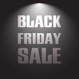 μαύρη πώληση Παρασκευής Στοκ Εικόνα