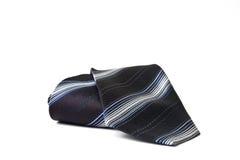 Μαύρη ριγωτή γραβάτα Στοκ Φωτογραφία