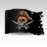 μαύρη σημαία ελεύθερη απεικόνιση δικαιώματος