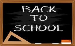 μαύρη σχολική σύσταση σχεδίου πινάκων κιμωλίας Στοκ εικόνα με δικαίωμα ελεύθερης χρήσης