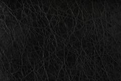 μαύρη σύσταση δέρματος ανα&s Στοκ Εικόνα
