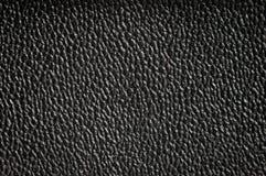 Μαύρη σύσταση δέρματος Στοκ Εικόνα