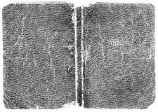 μαύρη σύσταση δέρματος Στοκ Φωτογραφίες