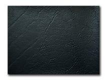 μαύρη σύσταση δειγμάτων leatherette Στοκ φωτογραφία με δικαίωμα ελεύθερης χρήσης
