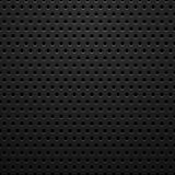 Μαύρη σύσταση μετάλλων με τις τρύπες Στοκ Εικόνες