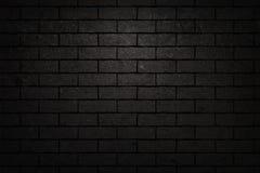 Μαύρη σύσταση τουβλότοιχος Στοκ Φωτογραφίες