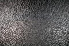 μαύρη σύσταση leatherette Στοκ φωτογραφία με δικαίωμα ελεύθερης χρήσης