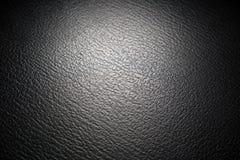μαύρη σύσταση leatherette Στοκ Εικόνες