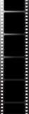 μαύρη ταινία Στοκ Εικόνες