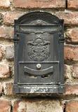 μαύρη ταχυδρομική θυρίδα Στοκ φωτογραφία με δικαίωμα ελεύθερης χρήσης