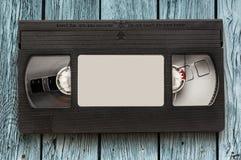 Μαύρη τηλεοπτική κασέτα στοκ εικόνες