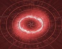 μαύρη τρύπα διανυσματική απεικόνιση