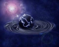 μαύρη τρύπα Στοκ Εικόνα