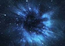 Μαύρη τρύπα Στοκ εικόνα με δικαίωμα ελεύθερης χρήσης