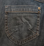 μαύρη τσέπη τζιν στοκ εικόνες