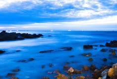 μαύρη όψη ανατολής θάλασσας βουνών kara της Κριμαίας dag Στοκ εικόνες με δικαίωμα ελεύθερης χρήσης