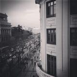 Μαύρη ώρα κυκλοφοριακής αιχμής Στοκ Εικόνα