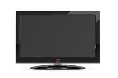 μαύρη TV πλάσματος Στοκ Φωτογραφίες