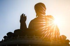 Μαύρισμα Βούδας Tian στο Χογκ Κογκ Στοκ Εικόνα