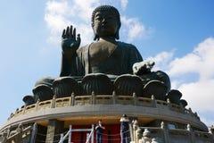 μαύρισμα του Βούδα tian Στοκ Φωτογραφίες