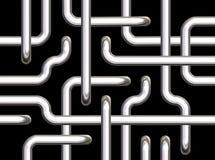 μαύροι σωλήνες ανασκόπησ&et διανυσματική απεικόνιση