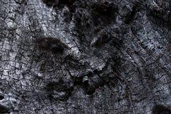 Μαύρος άνθρακας όπως τη μμένη ξύλινη επιφάνεια Στοκ εικόνες με δικαίωμα ελεύθερης χρήσης
