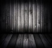 μαύρος άσπρος ξύλινος δωμ& Στοκ εικόνα με δικαίωμα ελεύθερης χρήσης