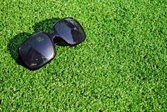 μαύρος ήλιος γυαλιών Στοκ Φωτογραφία