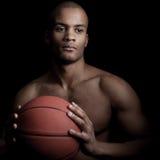 Μαύρος αθλητής Στοκ Εικόνες