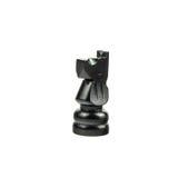 Μαύρος αριθμός σκακιού για το λευκό - ιππότης στοκ φωτογραφία με δικαίωμα ελεύθερης χρήσης