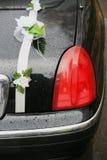 μαύρος γάμος limousine Στοκ φωτογραφία με δικαίωμα ελεύθερης χρήσης