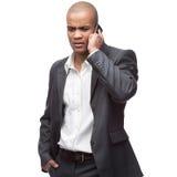 μαύρος επιχειρηματίας Στοκ Εικόνες