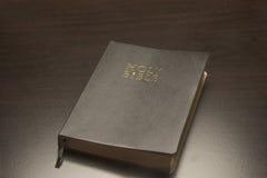 μαύρος ιερός Βίβλων Στοκ Φωτογραφία