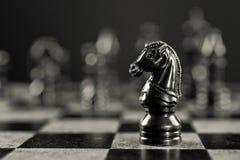 μαύρος ιππότης Στοκ Εικόνες