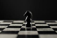μαύρος ιππότης στοκ εικόνα