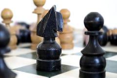 μαύρος ιππότης Στοκ εικόνες με δικαίωμα ελεύθερης χρήσης