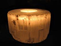 μαύρος κάτοχος κεριών αν&alpha στοκ φωτογραφία με δικαίωμα ελεύθερης χρήσης