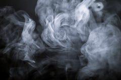 μαύρος καπνός ανασκόπησης Defocused τονισμένος Στοκ Εικόνα